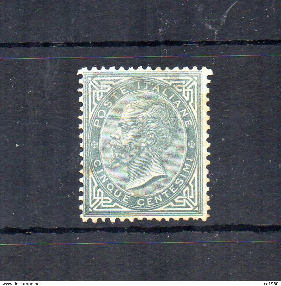 Italia - Regno - 1863 - Serie De La Rue - Effige Di Vittorio Emanuele II° - 5 Centesimi - Nuovo * - (FDC18369) - 1861-78 Victor Emmanuel II.