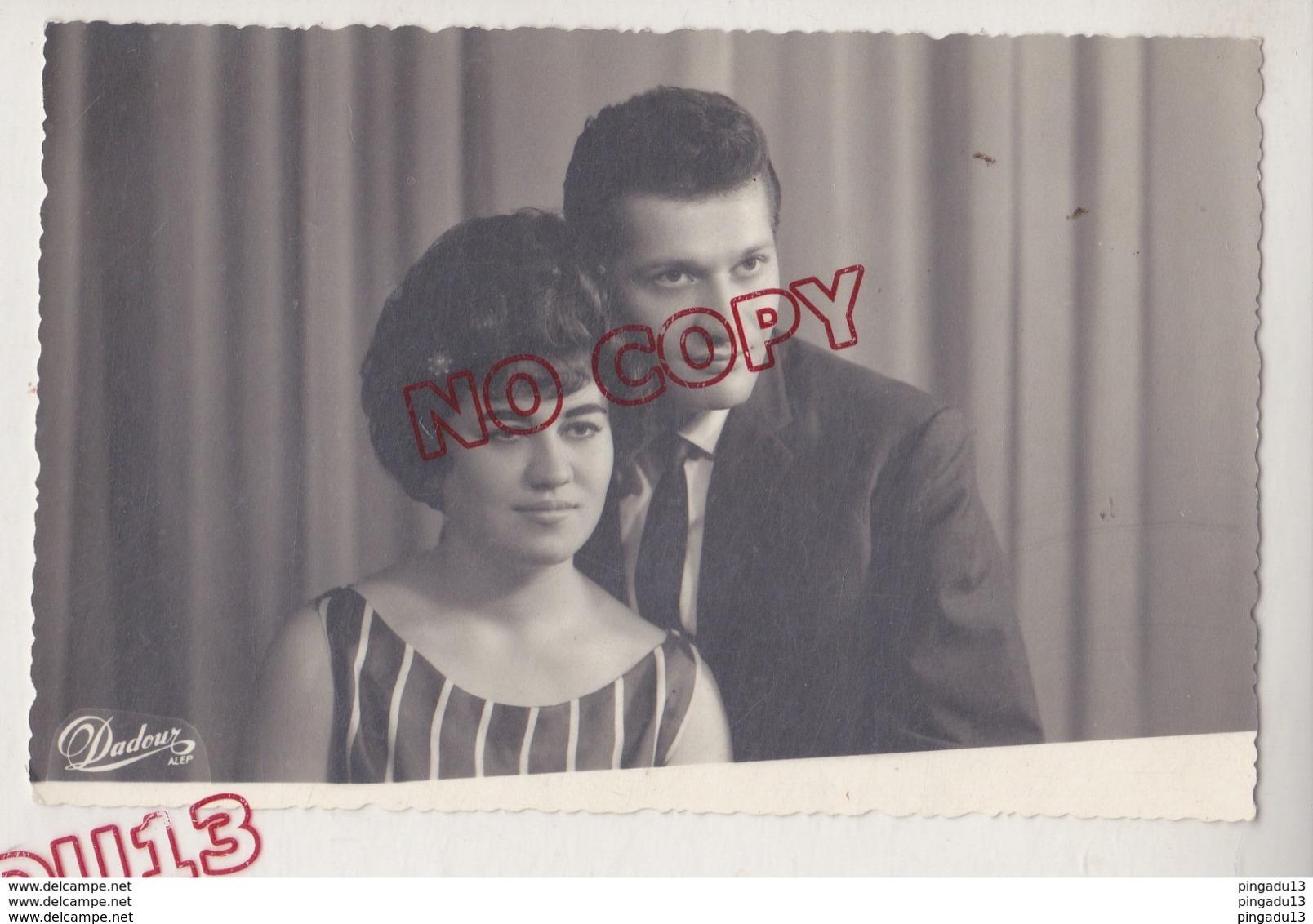 Au Plus Rapide Carte Photo Archive Famille Arménienne Arménie Photographe Dadour Alep Syrie Turquie Portrait Couple - Armenië