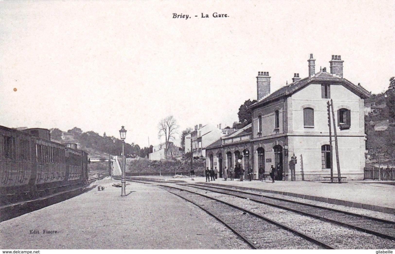 54 - Meurthe Et Moselle -  BRIEY - La Gare - Briey
