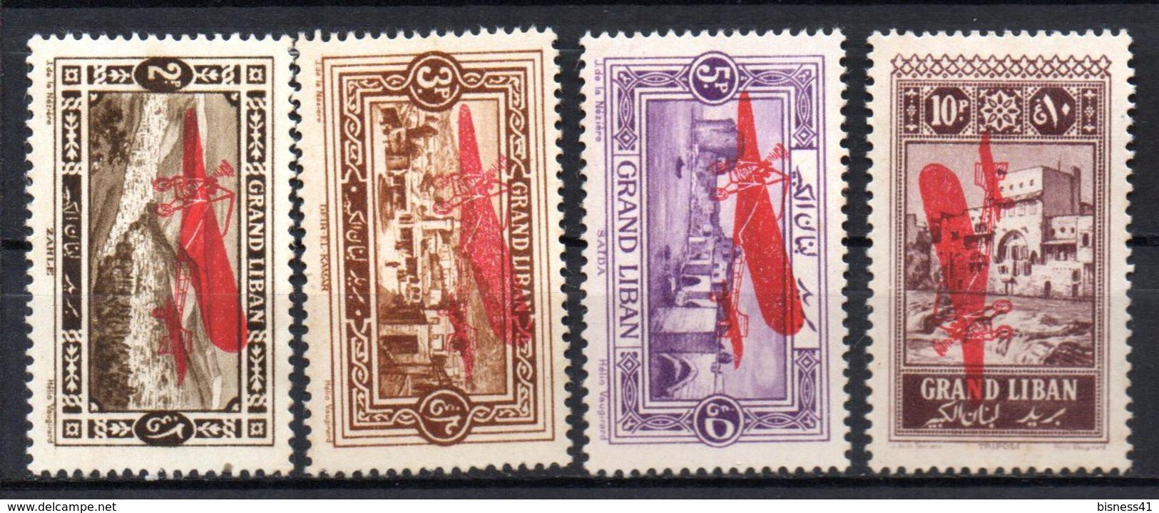 Col17  Colonie Grand Liban PA  N° 13 à 16 Neuf X MH  Cote 26,00 € - Gross-Libanon (1924-1945)