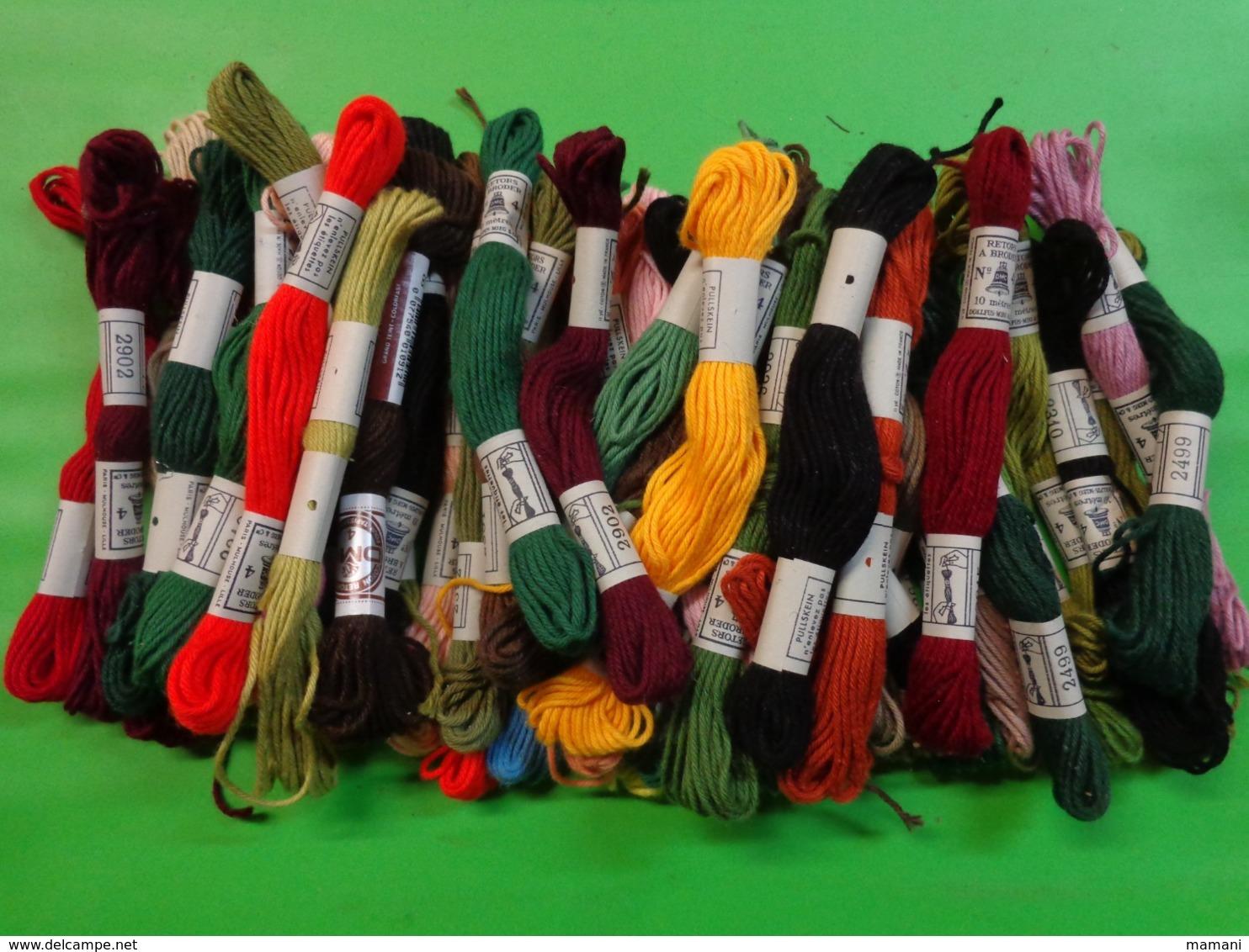 1 Lot De Coton Dmc + Vrac (340g En Tout) Sans Emballage - Creative Hobbies