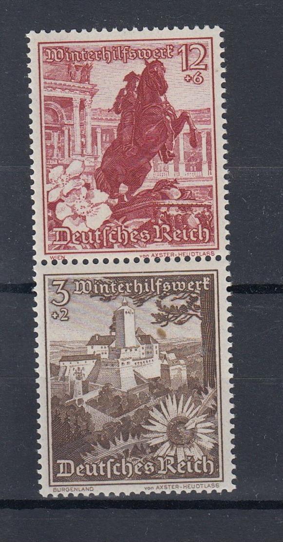 Reich Michel Kat.Nr. ZD  Postfr/** SA249 - Zusammendrucke