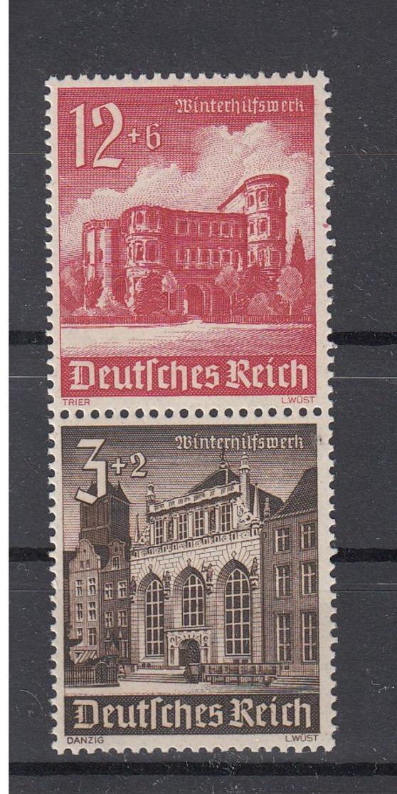 Reich Michel Kat.Nr. ZD  Postfr/** S266 - Zusammendrucke
