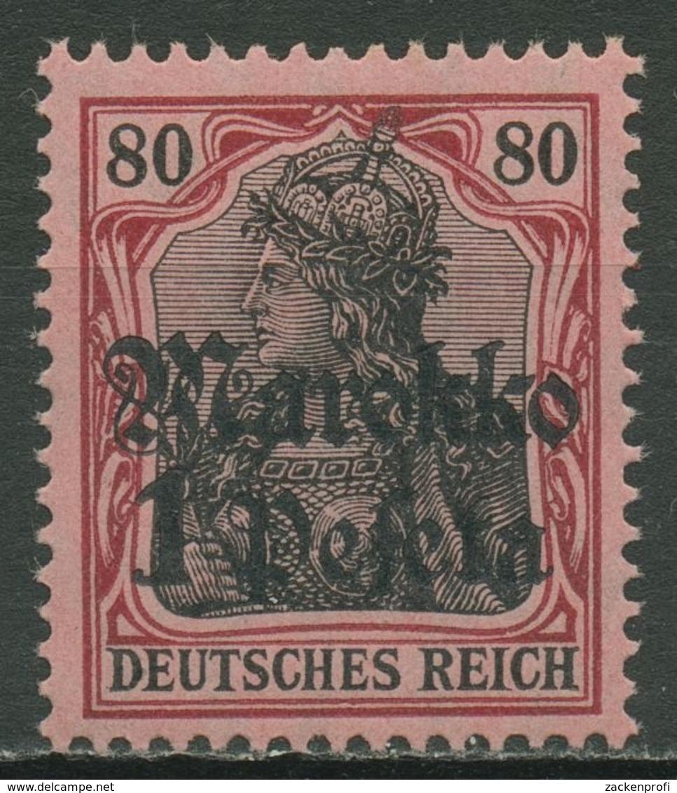 Deutsche Post In Marokko 1911/19 Germania Mit Aufdruck 54 Postfrisch - Deutsche Post In Marokko