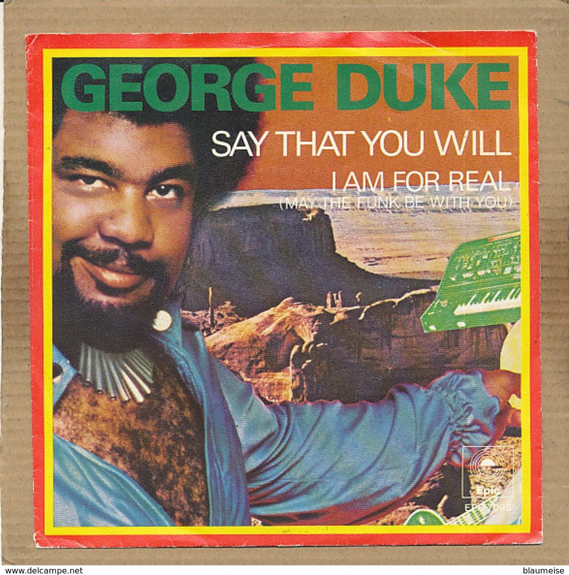 "7"" Single, George Duke - Say That You Will - Disco, Pop"