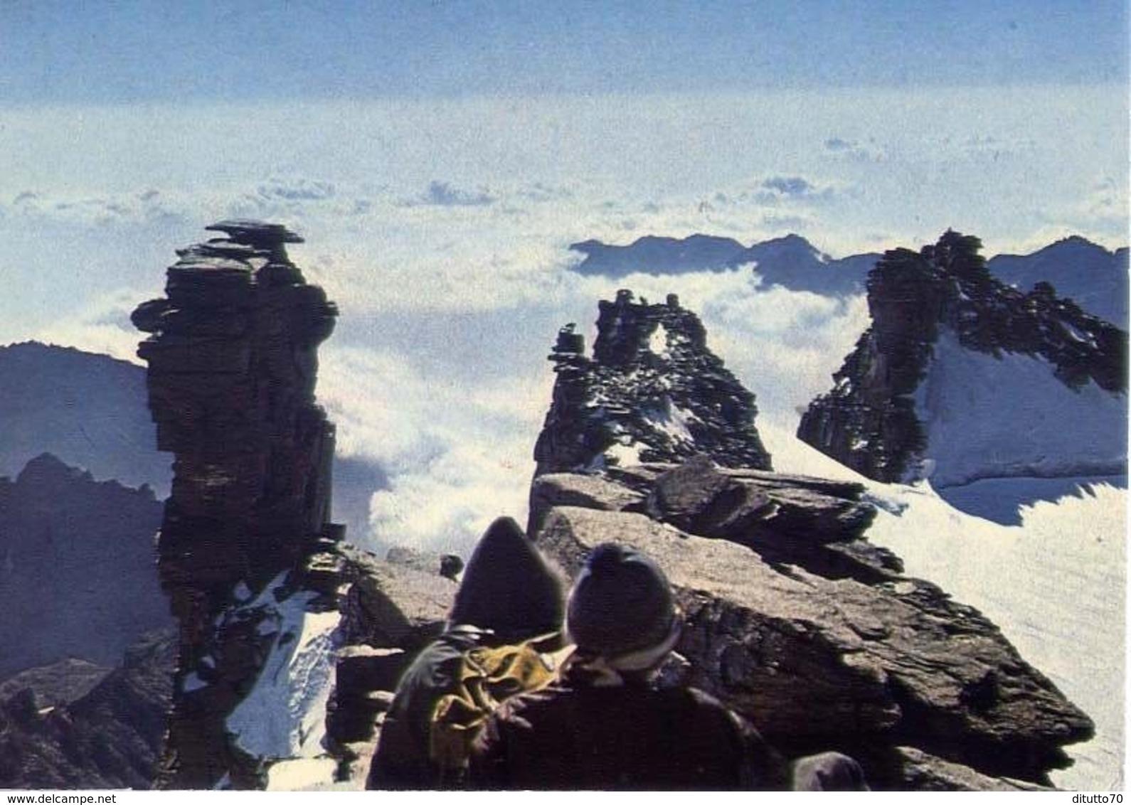 Val D'aosta - Veduta Del Gran Paradiso - Formato Grande Viaggiata – E 14 - Unclassified