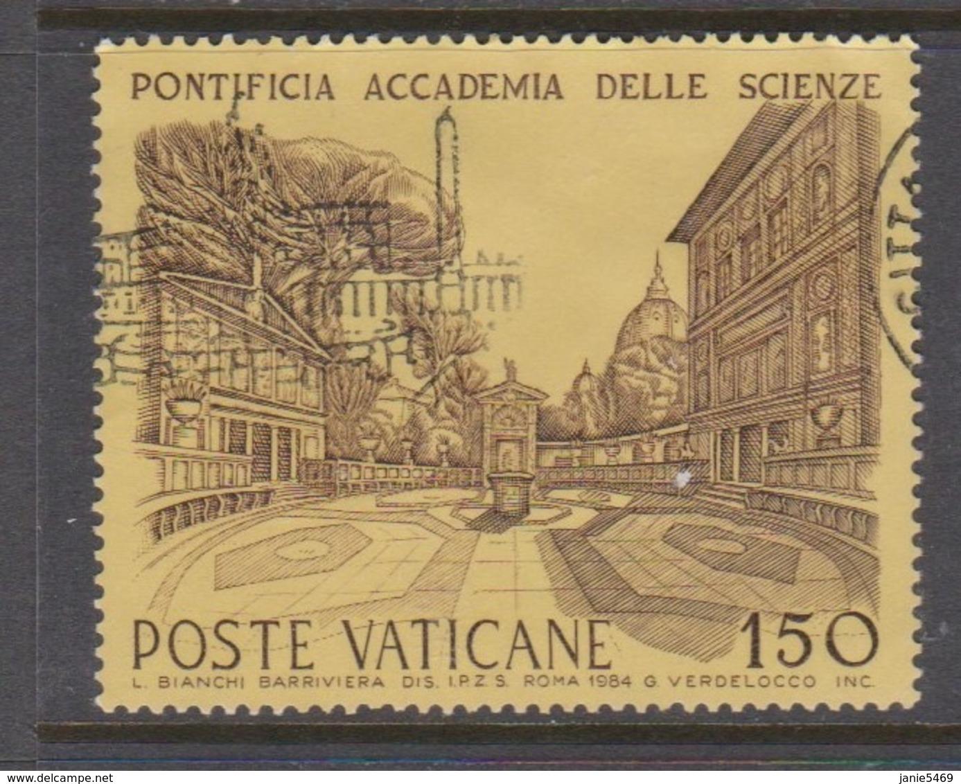Vatican City S 764 1984 Cultural Institutions. 150 Lire Used - Vaticano (Ciudad Del)