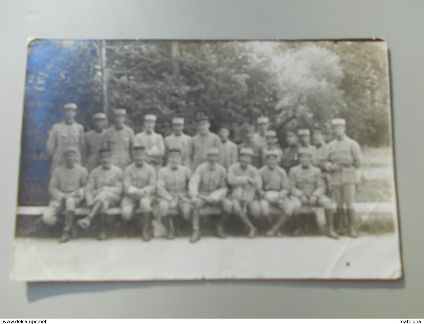 GUERRE SOUVENIR DE L'INSTRUCTION A BLEAU ( FONTAINEBLEAU ) - Regiments