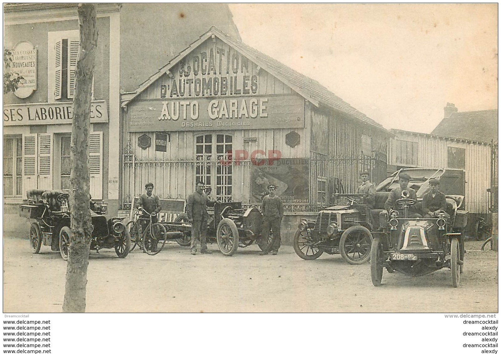 45 MONTARGIS. Garage Automobile Deshaies Ernest, Cycles 75 Avenue De La Gare - Montargis