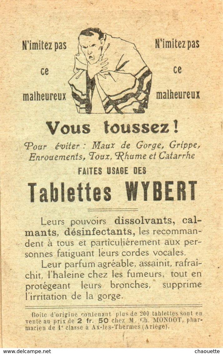 Carnet De Pesage...petit Carnet..pharmacie MONDOT   AX LES THERMES - Alte Papiere