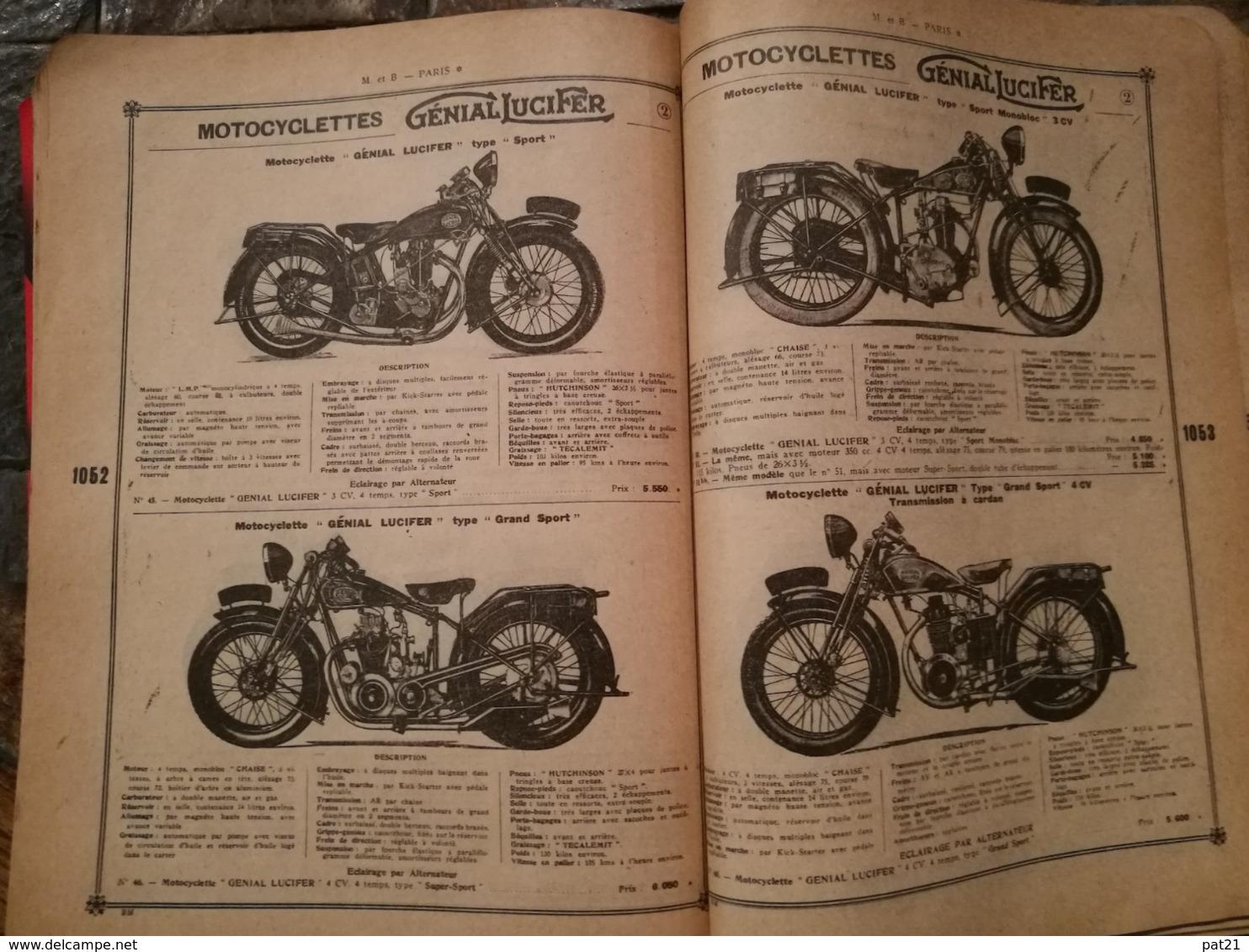 Catalogue MESTRE Et BLATGE    N° 50  RARISSIME:  1188 Pages  Auto Moto Velo Photo Phono .........et .bien D'autres Rimes - Livres, BD, Revues