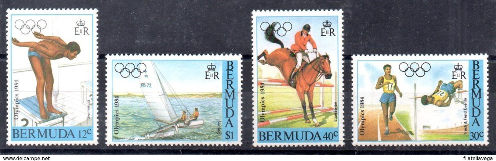 Bermudas Serie Completa Nº Yvert 443/46 ** Valor Catálogo 9.0€ - Bermudas