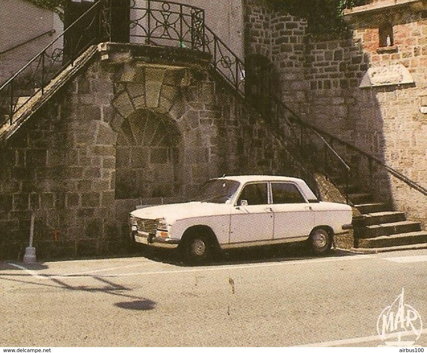 06 - THÉOULE Sur MER ÉGLISE SAINTE GERMAINE - PEUGEOT 304 BERLINE - ZOOM - Passenger Cars