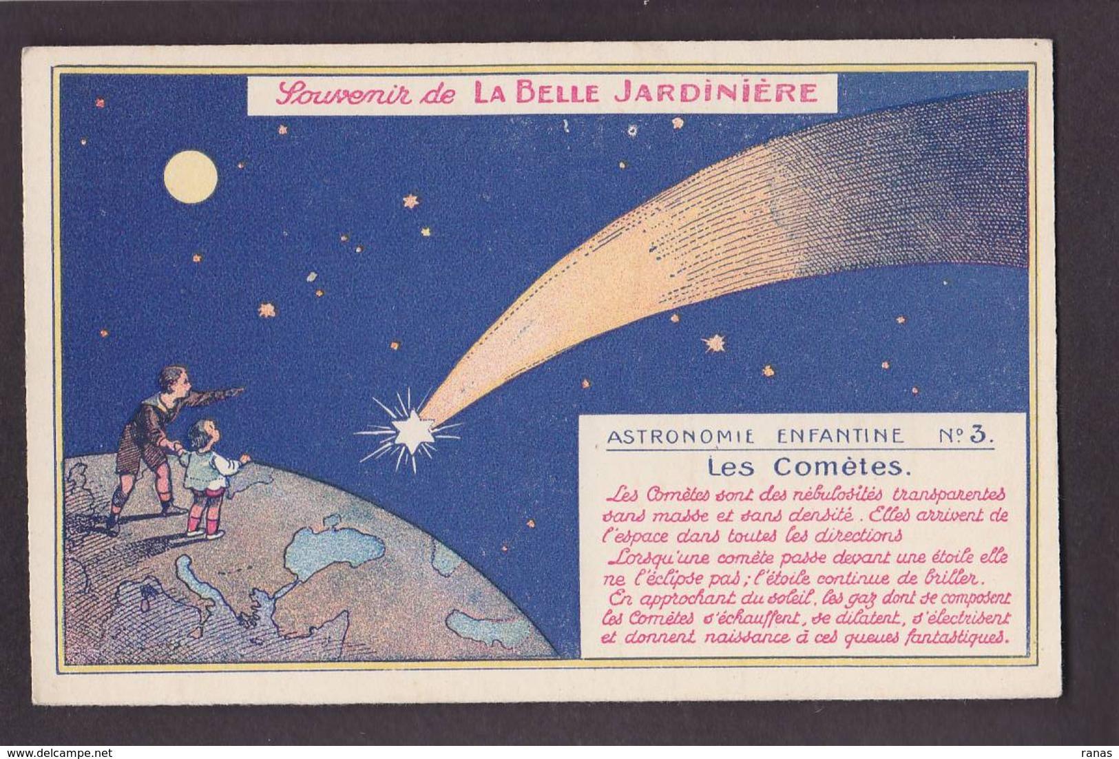 CPA Astronomie Comète Publicité La Belle Jardinière Non Circulé - Astronomia