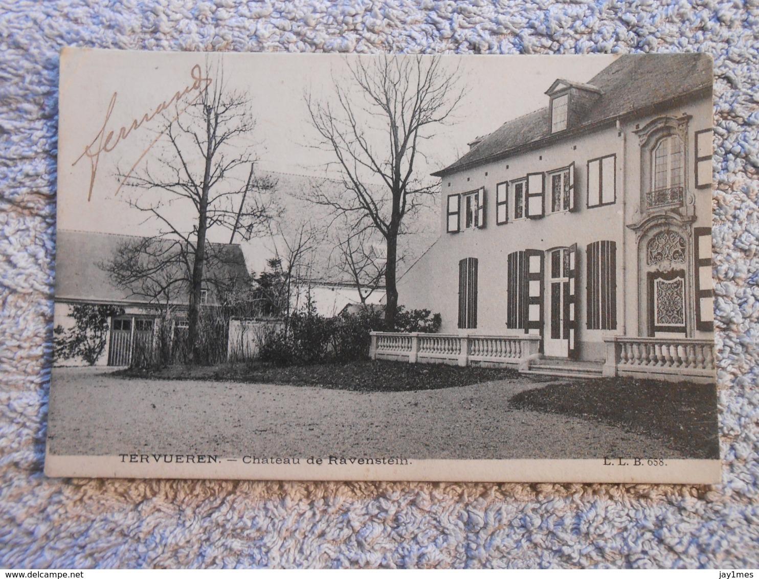3 Cpa  Tervueren Tervuren Chateau Ravenstein - Tervuren