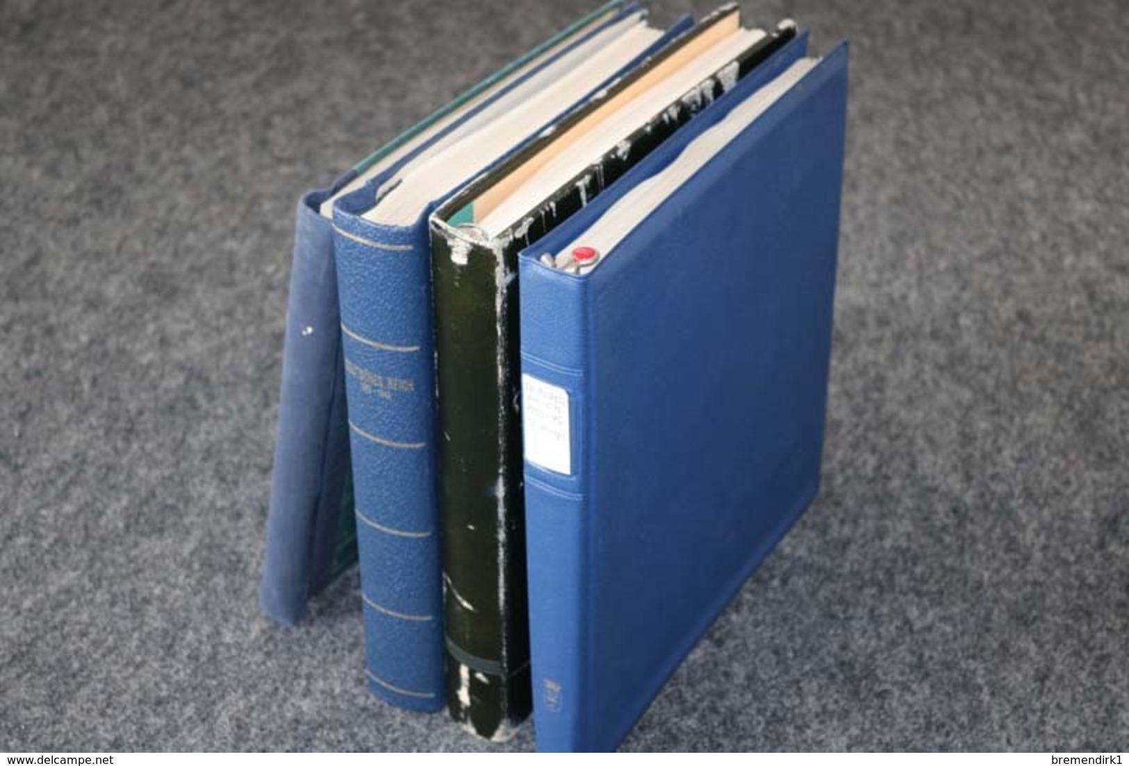 DEUTSCHES REICH Sammlungen In 4 Vordruckalben, 189 Bilder ....208 (F) - Lots & Kiloware (min. 1000 Stück)