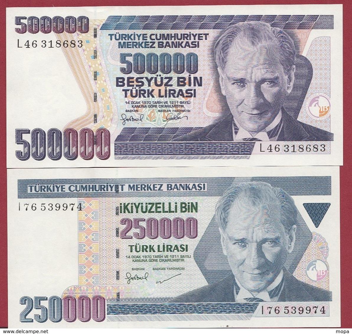 Turquie  2 Billets ---UNC - Turchia
