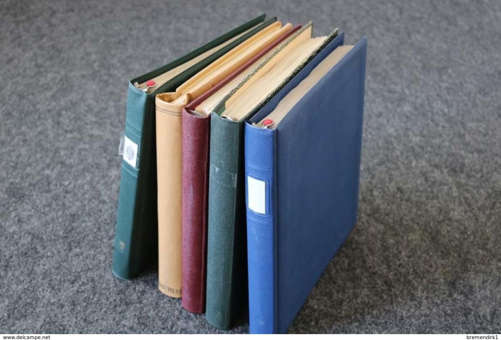 DEUTSCHES REICH + Gebiete Sammlungen In 5 Vordruckalben, 183 Bilder ....209 (F) - Lots & Kiloware (mixtures) - Min. 1000 Stamps