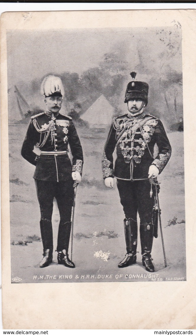 AO35 Royalty - H.M. The King And H.R.H. Duke Of Connaught - Royal Families