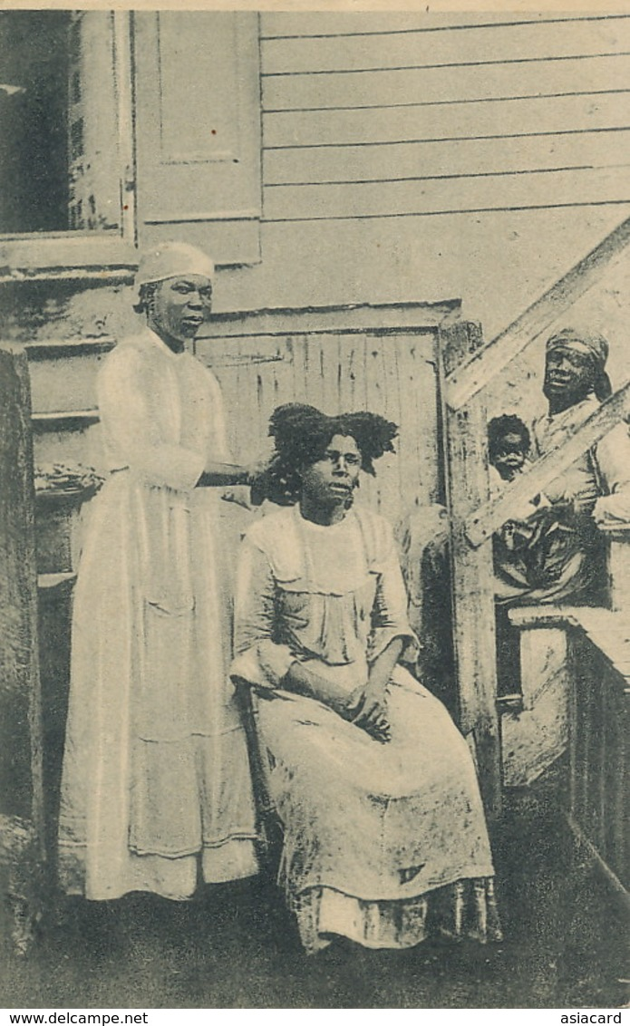 Negresses Des Antilles Americaines Coiffure Mission  ST Augustin Louvain Belgique Eyseringen , Roulers - Isole Vergini Americane