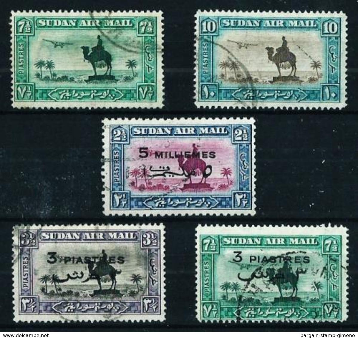 Sudán (Británico) Nº A-19/20-29/31 Usado Cat.71,50€ - Sudan (...-1951)