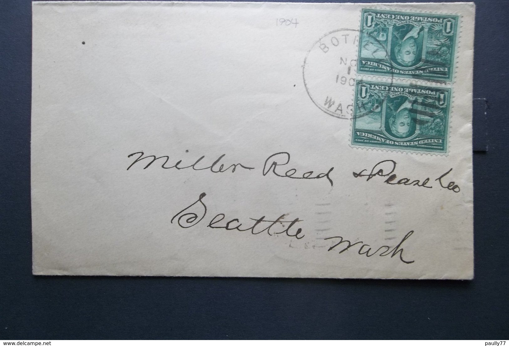 USA: 1904 Cover To Seattle, Wash. (#HV11) - United States