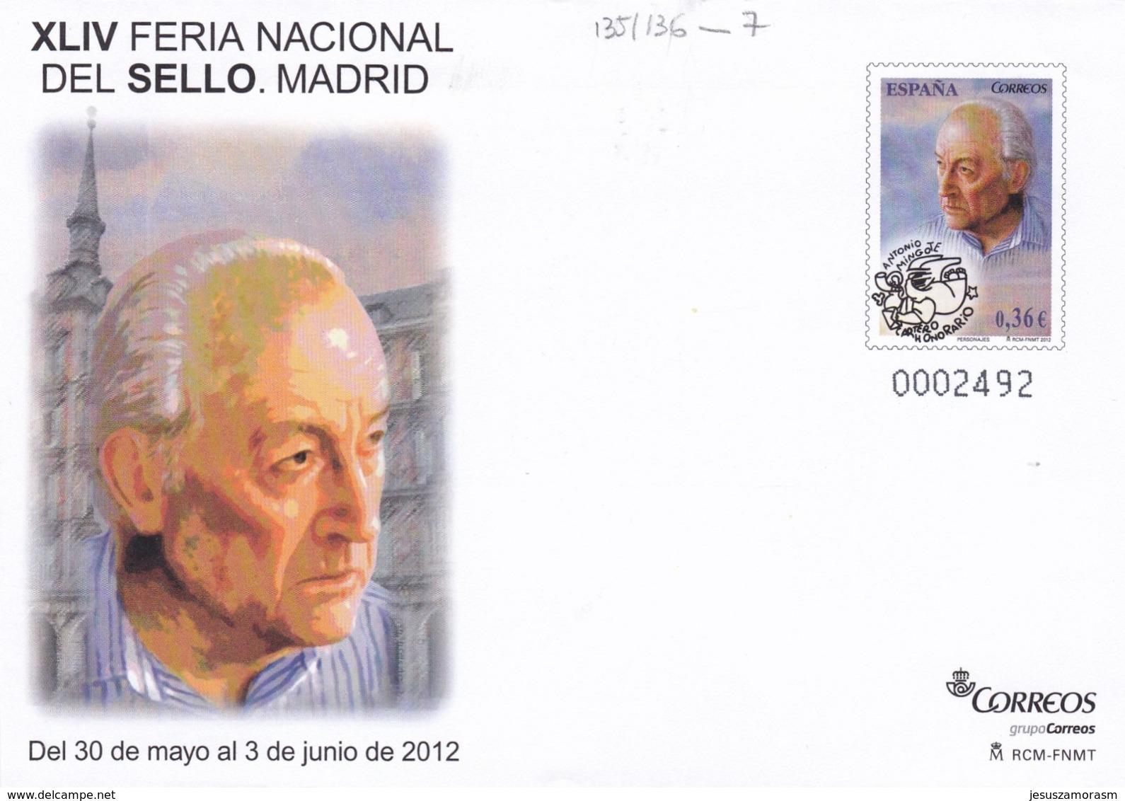 España Sobre Entero Postal Nº 135 - Enteros Postales