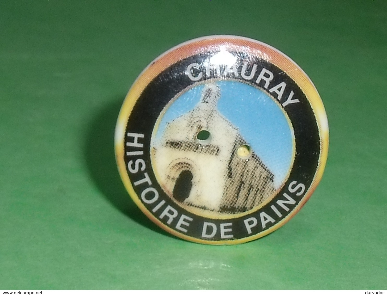 Fèves / Autres / Divers / Régions  : Bouton , Chauray , Histoire De Pain , Perso T119 - Regionen