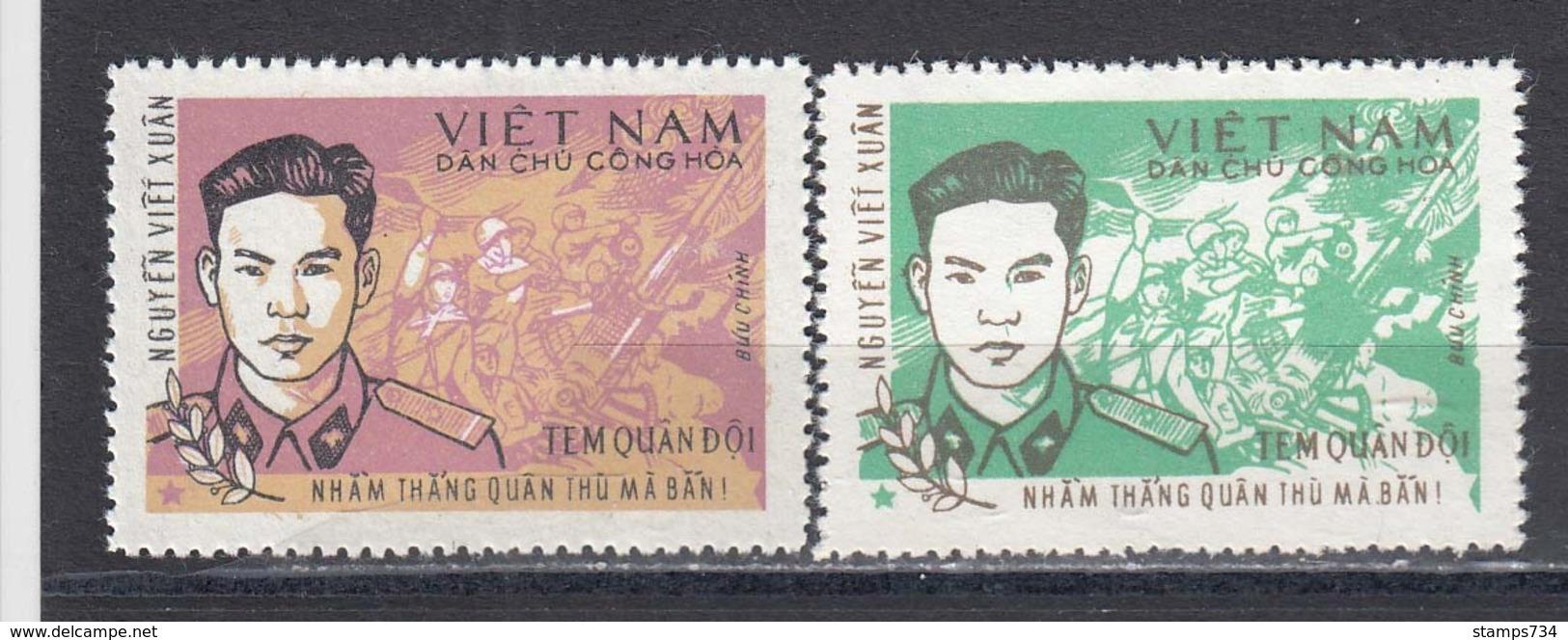 Vietnam Nord 1971/72 - Portofreiheitsmarke Mi-Nr. 19-20, MNH** - Vietnam