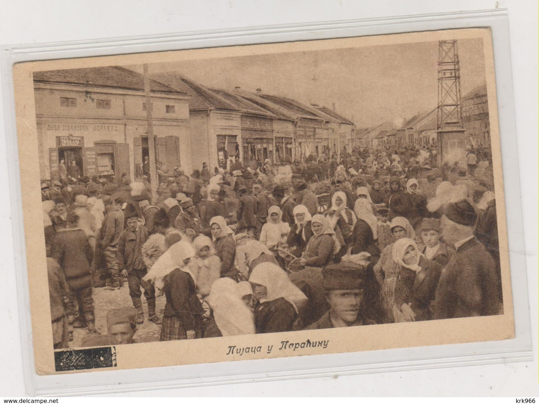 SERBIA PARACIN Nice Postcard - Serbia
