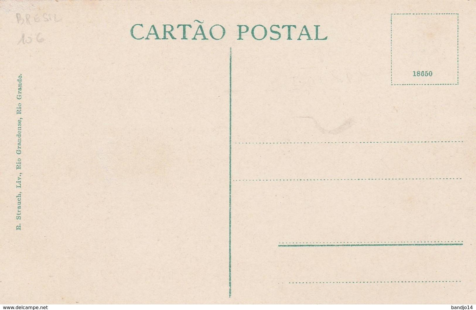 Indio Bororo De Matto Grosso  -  Scan Recto-verso - Brasil