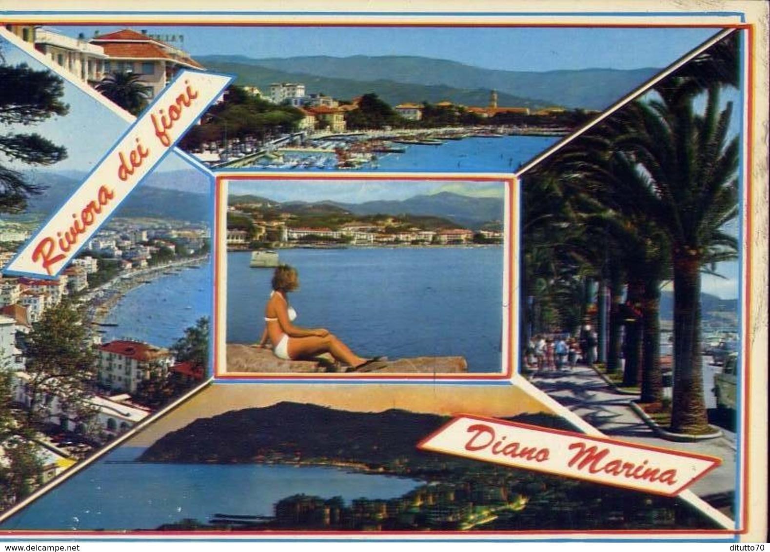 Diano Marina - 522-036 - Formato Grande Viaggiata – E 14 - Imperia