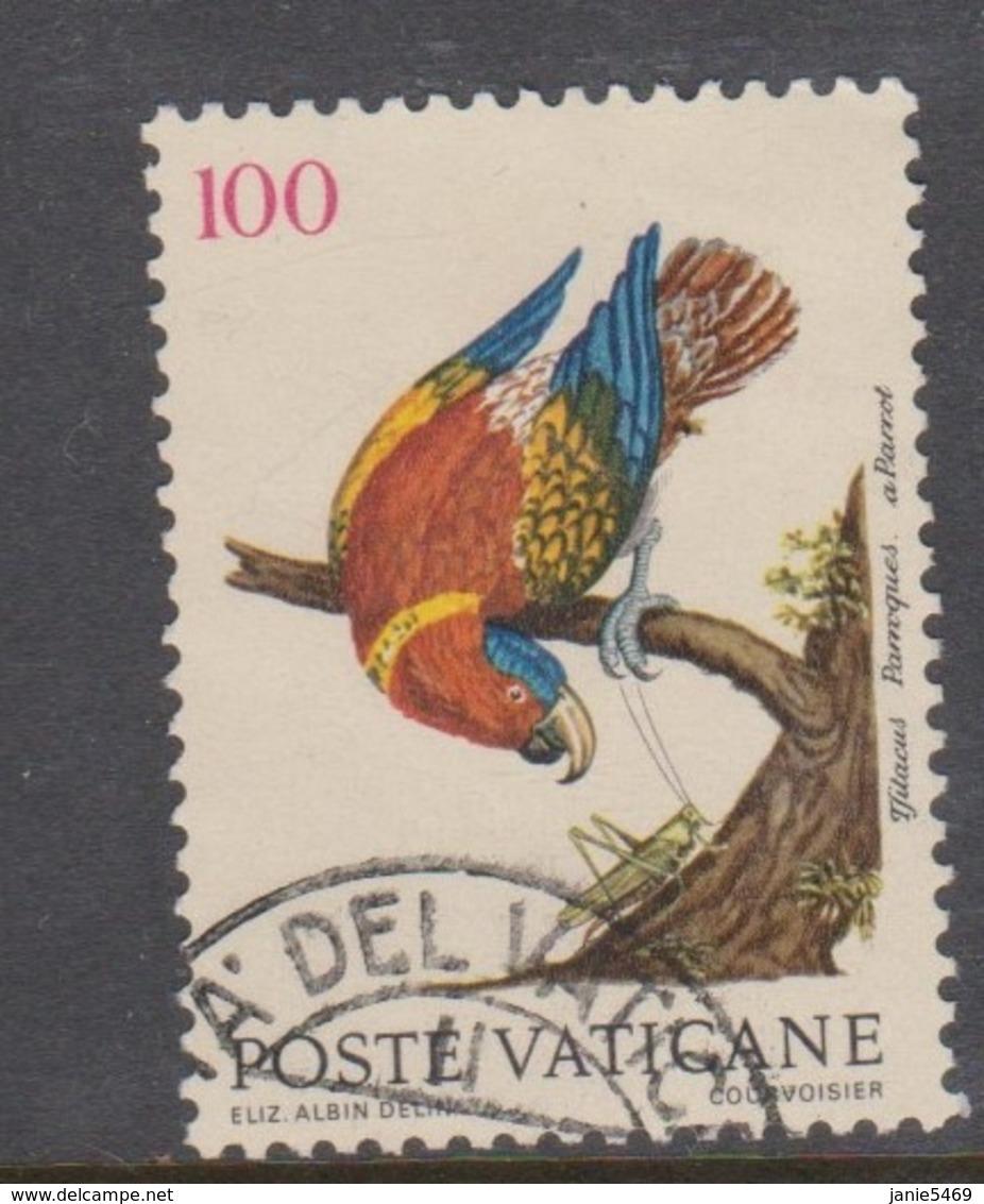 Vatican City S 868 1989 Birds. 100 Lire Used - Usados