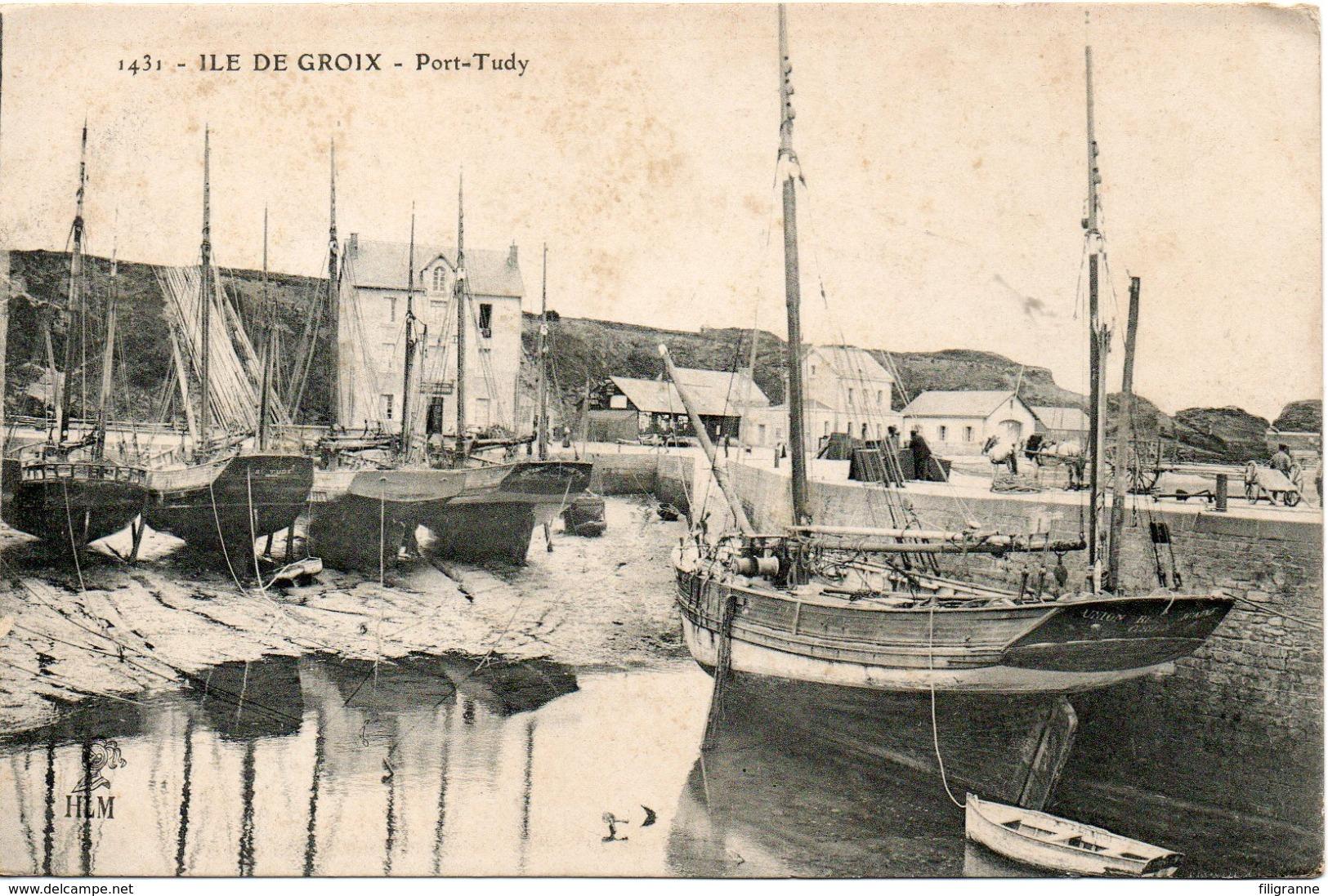 ILE DE GROIX PORT TUDY - Otros Municipios