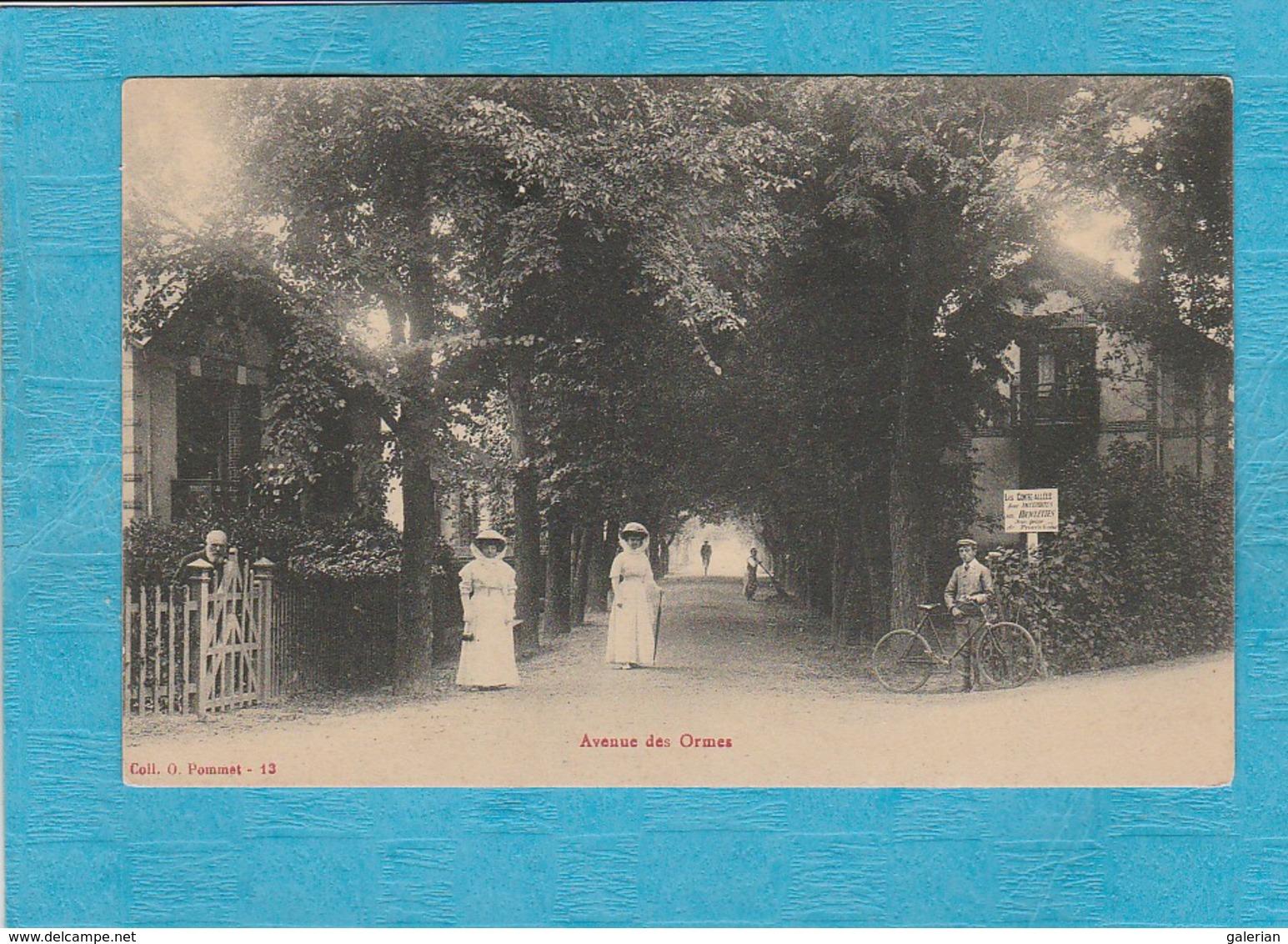 Le Pouliguen ( Loire-Atlantique ). - Avenue Des Ormes. - Le Pouliguen