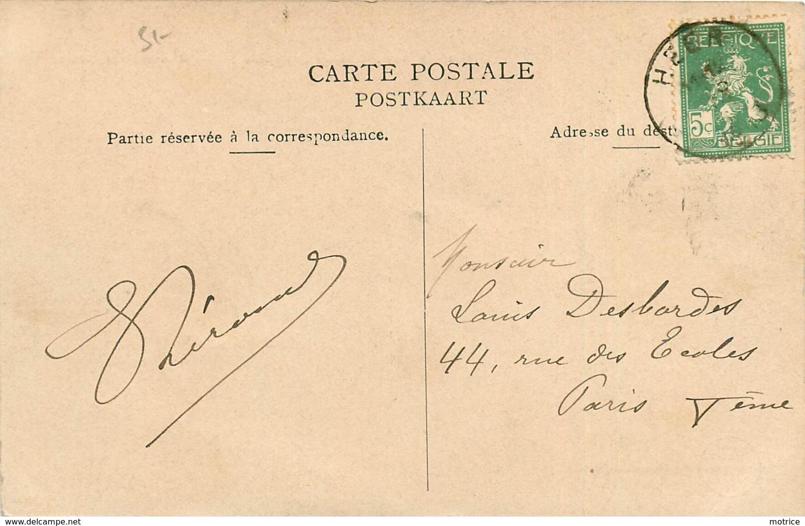 HEER AGIMONT - Hôtel Franco Belge, La Douane Et La Meuse. - Dogana