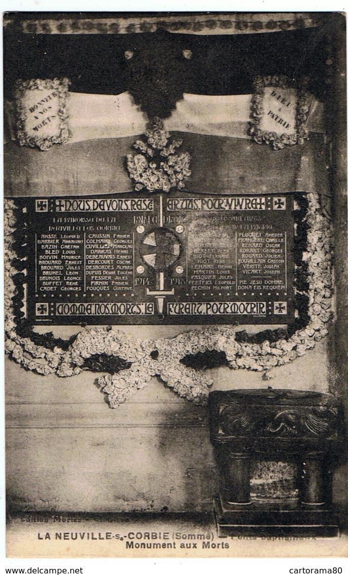 La Neuville-les-Corbie / Monument Aux Morts - Autres Communes
