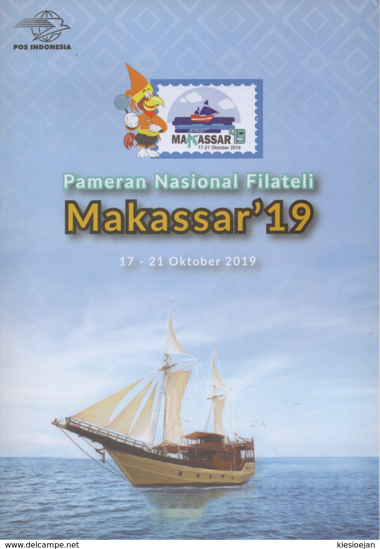 INDONESIA 2019-H4 #2 ROAD TO MAKASSAR UNCUT PERF IMPERF STAMPS PACK MNH - Indonesia