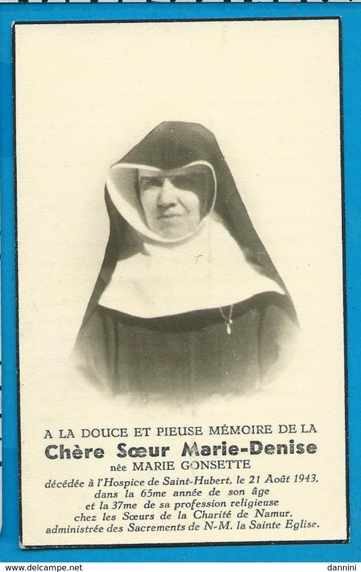 Bp   Soeur   Gonsette   St. Hubert   Namur - Imágenes Religiosas