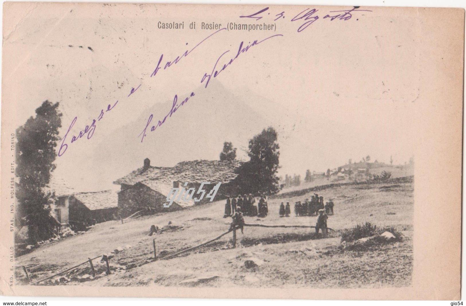 Aosta Champorcher Casolari Di Rosier - Unclassified