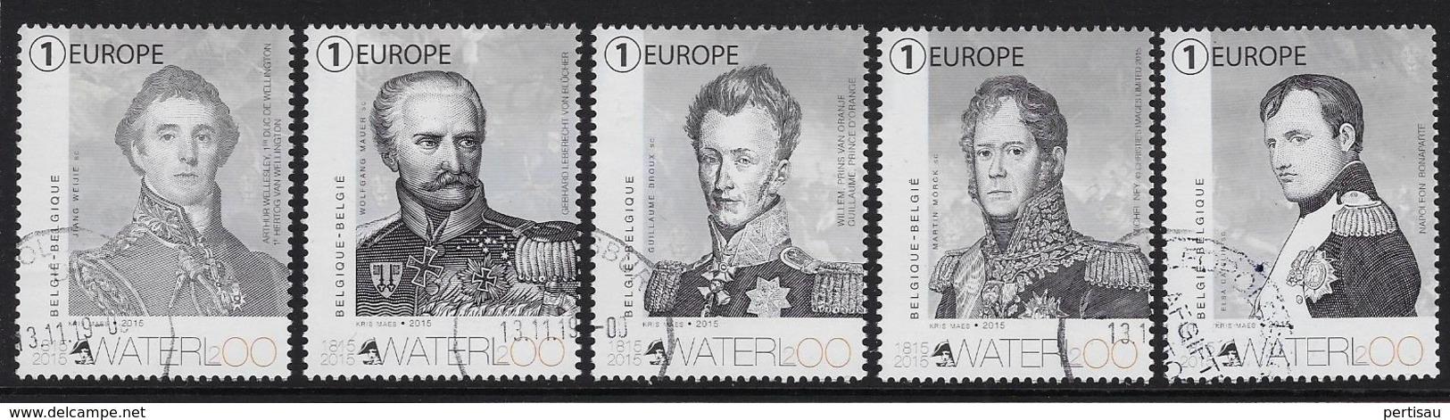 Slag Bij Waterloo 200 Jaar Geleden - Belgium