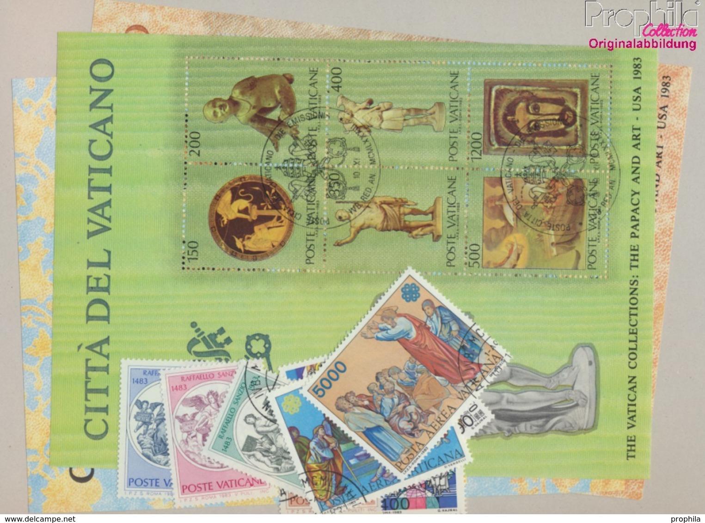 "Vatikanstadt Gestempelt Jahr Der Erl""sung 1983 Vatikanische Kunstwerke U.a.  (9371893 - Vaticano (Ciudad Del)"