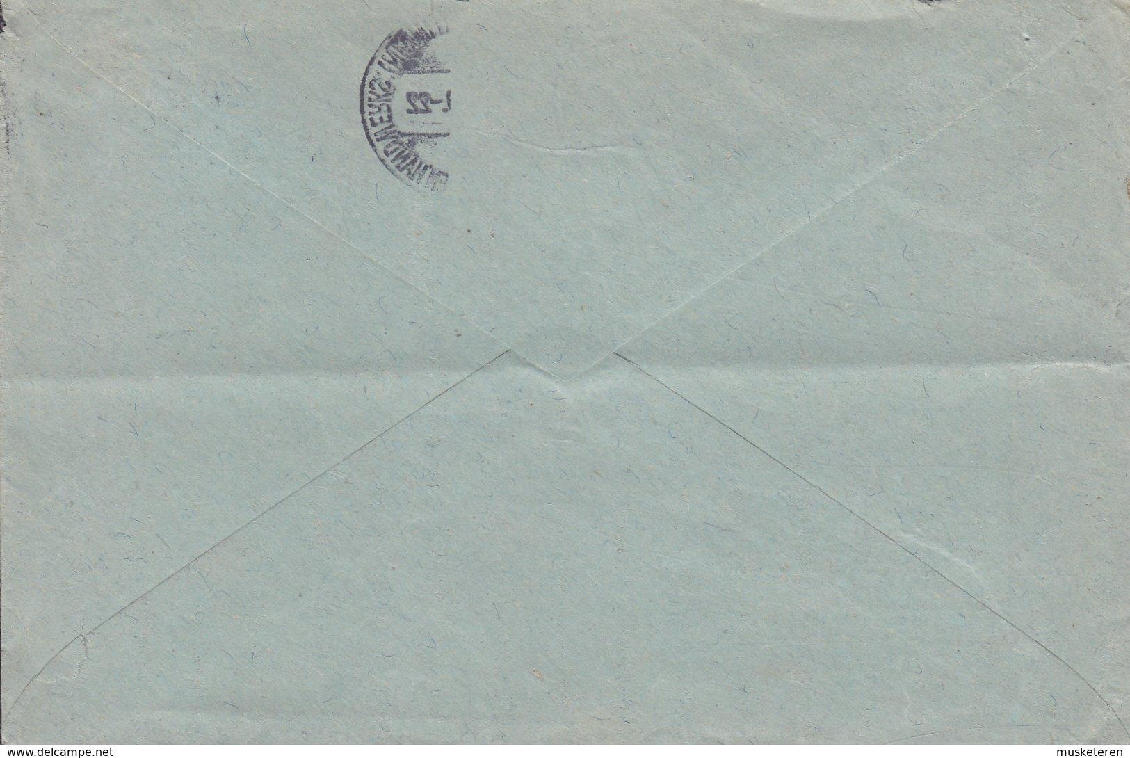 Deutsches Reich N.S.D.A.P. Hitler-Jugend Banne & Jungbanne 81/186 FRANKFURT 1939 Cover Brief 8 Pf Adler Auf Sockel Stamp - Officials
