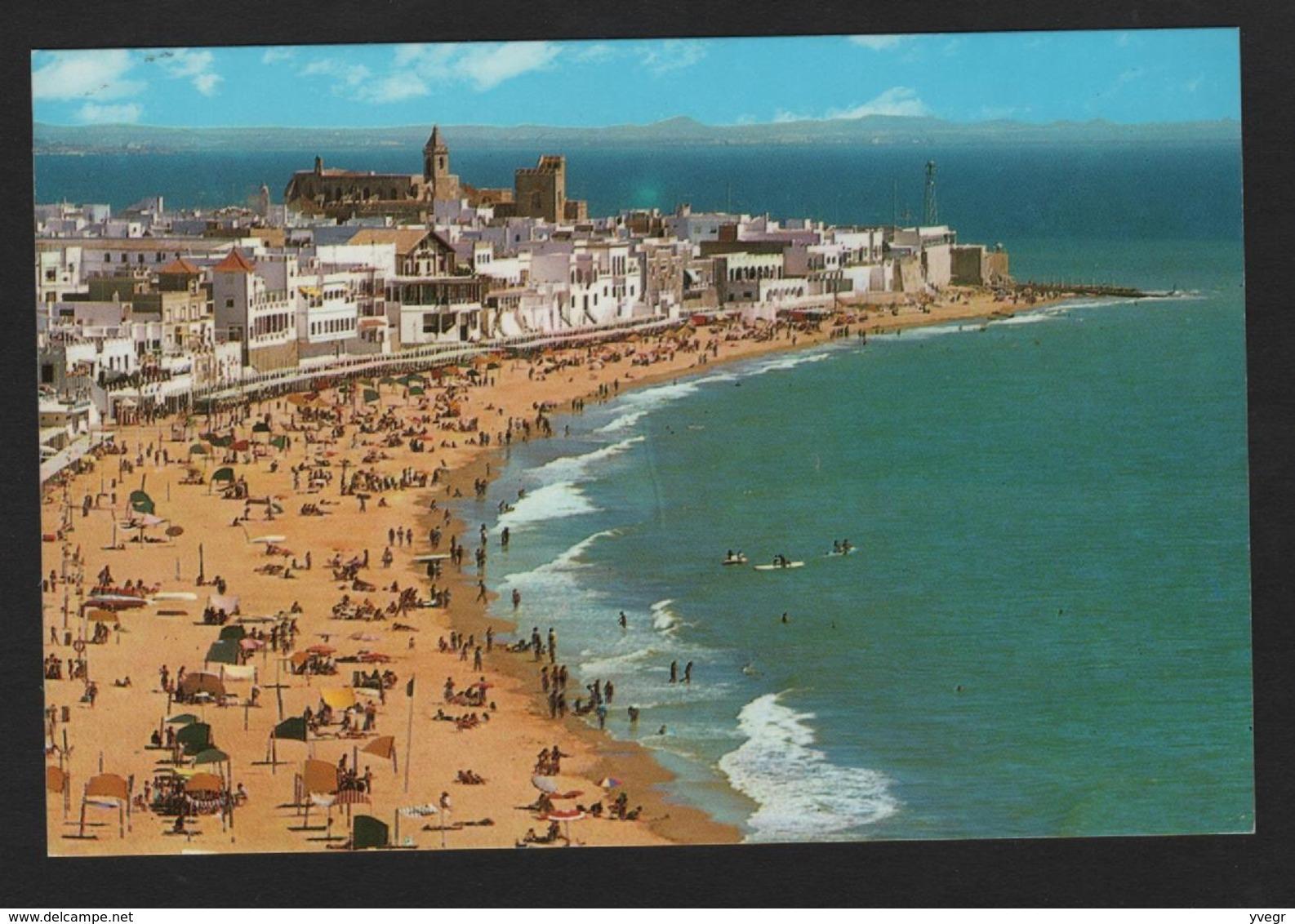 Espagne - N°31 - ROTA - Costa De La Luz  Playa De La Costilla - Plage - Spagna
