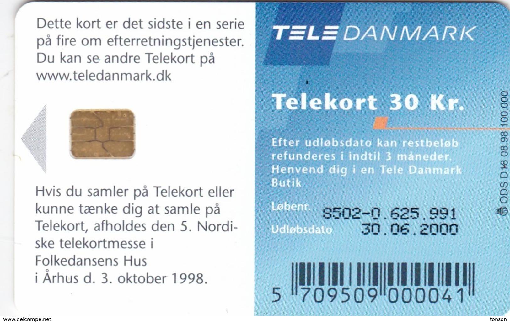 Denmark, D 018, MI 5, 2 Scans. - Dänemark