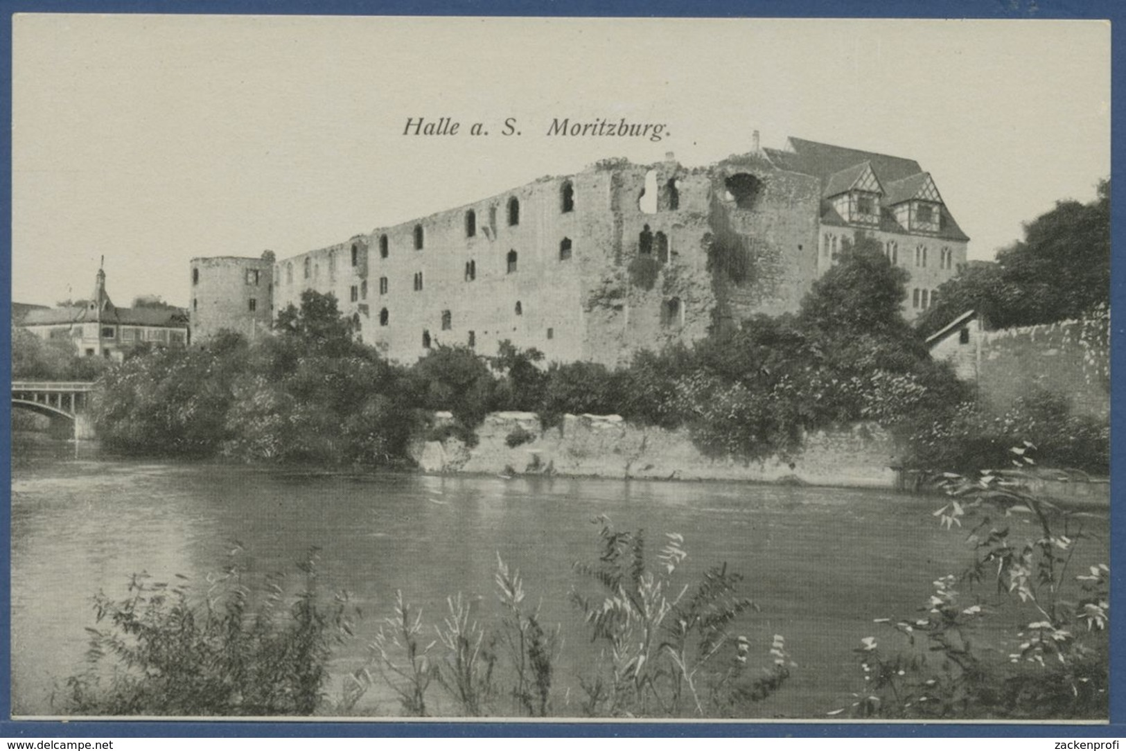 Halle A. S. Moritzburg, Ungebraucht (AK2297) - Halle (Saale)