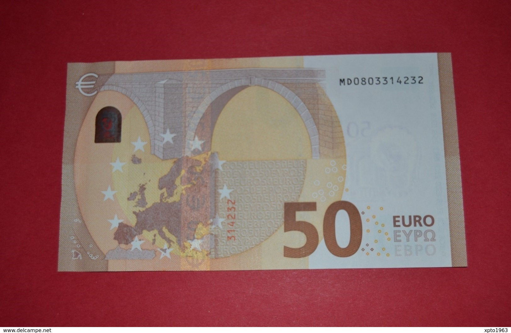 50 EURO M005 D5 - PORTUGAL - M005D5 - MD0803314232 - DRAGHI - UNC - NEUF - FDS - EURO