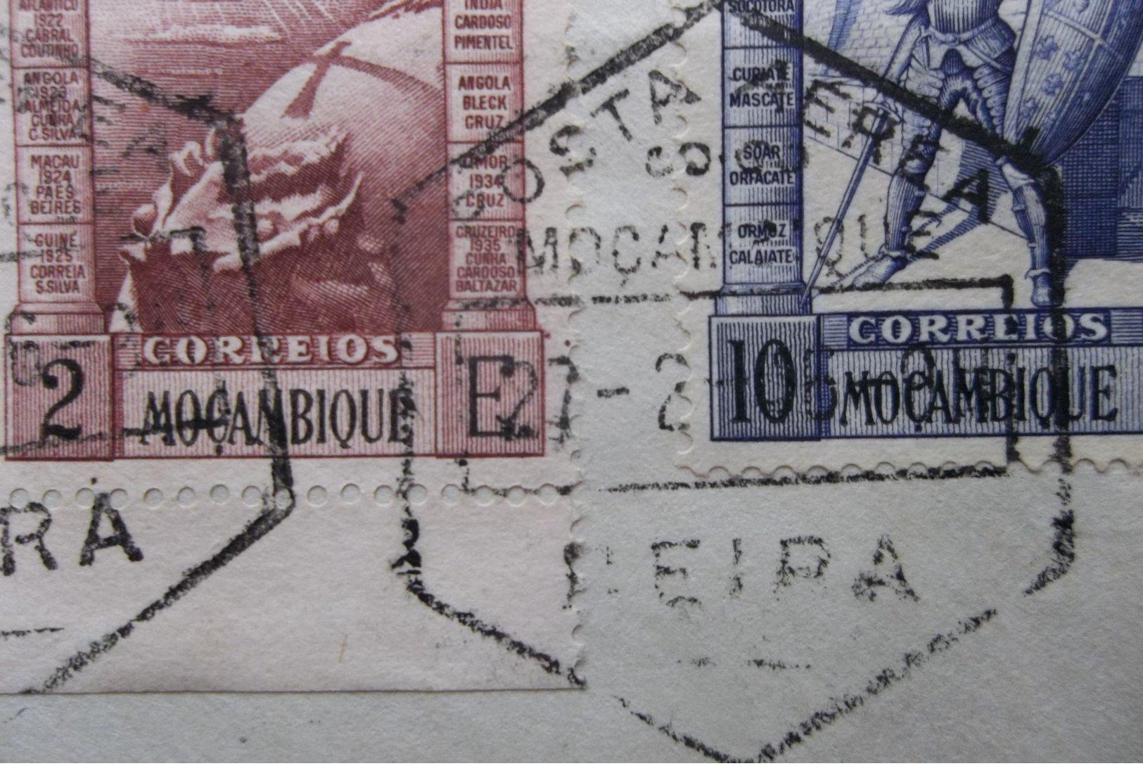 Mocambique/Portugal: 1946 Air Cover To USA (#JV10) - Mozambique