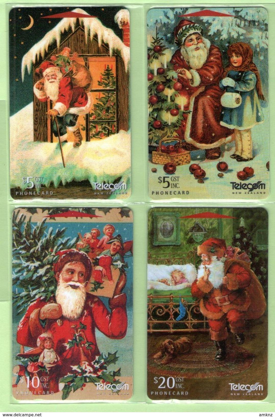 New Zealand - 1996 Christmas Set (4) - NZ-G-142/145 - Very Fine Used - Neuseeland