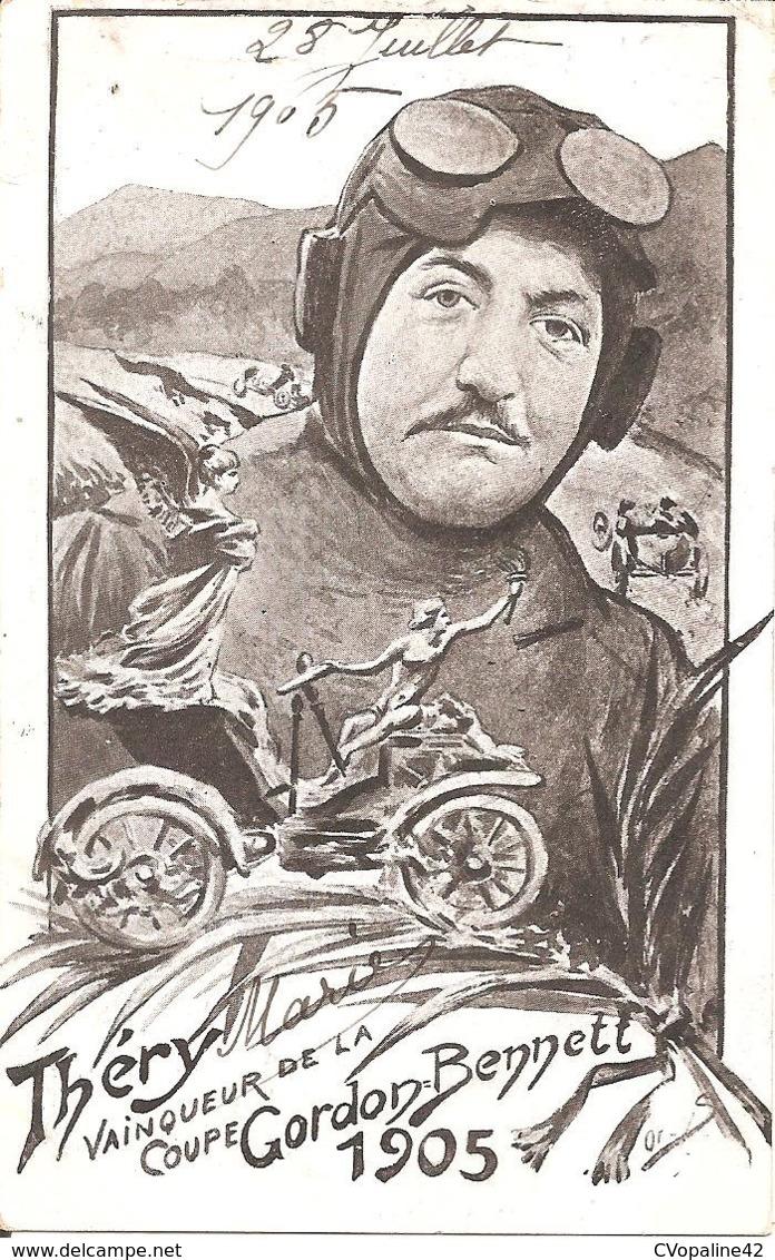THERY , Vainqueur De La COUPE GORDON BENETT 1905 - Non Classificati